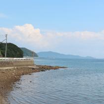 天草の海の風景